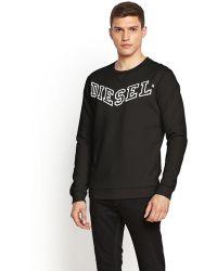 Diesel Mens Sbansi Crew Sweater - Lyst