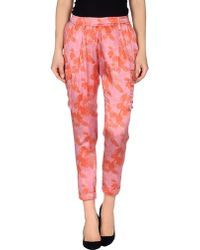 Silk And Soie - Casual Trouser - Lyst