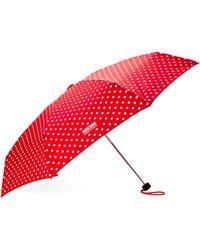 Moschino Dotted Umbrella - Lyst
