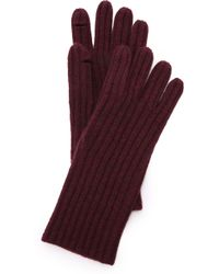 Madewell - Ribbed Texting Glove - Logan Berry - Lyst