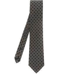 Dolce & Gabbana Polkadot Silk Tie - Lyst