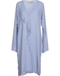 By Malene Birger Knee-Length Dress - Lyst