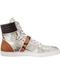 Vivienne Westwood High Top Buckle Sneaker - Lyst