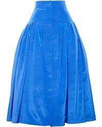 Natasha Zinko Full Twill Skirt - Red