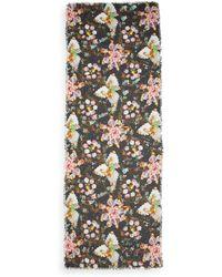 Mary Katrantzou Floral-print Modal/cashmere Scarf - Multicolor