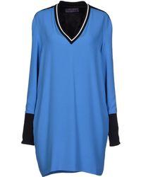 Emanuel Ungaro Short Dress - Lyst
