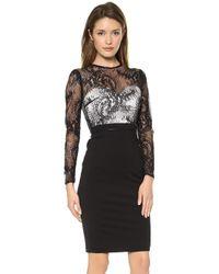 Catherine Deane Vinia Long Sleeve Lace Dress Blackfrost - Lyst