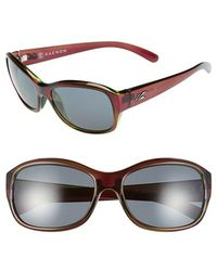 Kaenon - 'maya' 58mm Polarized Sunglasses - Eggplant - Lyst