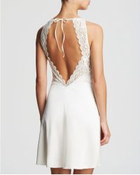Simone Perele Celeste Night Dress Chemise - White