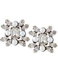 Dannijo Lilly Crystal Earrings - Lyst