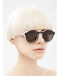 Maison Margiela | Nude/black Mykita Dual Sunglasses | Lyst