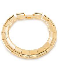 Lele Sadoughi | Checkered Collar Necklace | Lyst