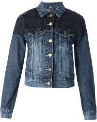 2nd Day - Gertie Embroidered Denim Jacket - Lyst