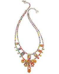 Tom Binns - A Riot Of Colour Splash Necklace Multi - Lyst