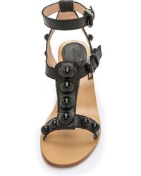 Markus Lupfer - Embellished City Sandals - Black - Lyst