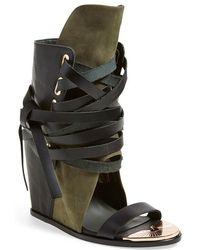 Ivy Kirzhner - 'Mount' Wedge Sandal - Lyst