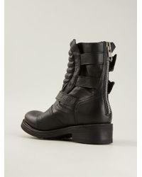 Ash Triumph Biker Boots - Lyst
