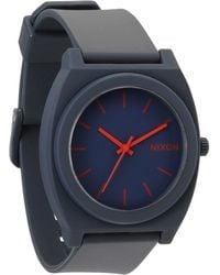 Nixon Time Teller P Matt Navy Watch - Lyst