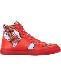 Marc Jacobs Printed High Top Sneaker - Lyst