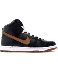 "Nike Sb Dunk High ""Guinness"" black - Lyst"