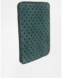 Ganni Leather Ipad Case