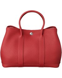 Hermes Red Garden Party - Lyst