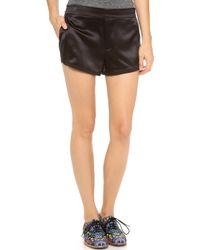 Marc By Marc Jacobs Julee Crepe Shorts - Black