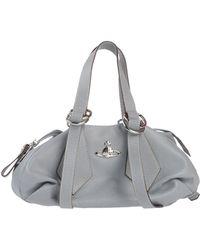 Vivienne Westwood Handbag gray - Lyst