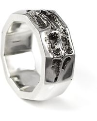 Smith/grey - Via Api Ring Silver - Lyst