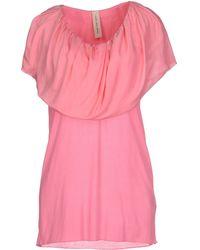 Coast + Weber + Ahaus Top pink - Lyst