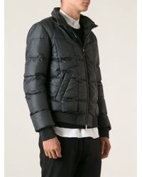 Fendi Quilted Padded Jacket - Lyst