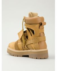 Hood By Air - 'avalanche' Combat Boots - Lyst
