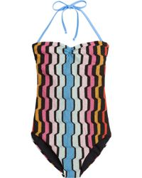 Missoni Mare Printed Swimsuit - Lyst