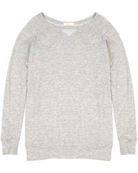 Cynjin French Terry Sweatshirt gray - Lyst