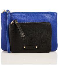 Linea Pelle Cosmetic Bag Set blue - Lyst