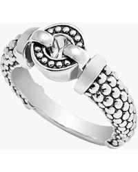 Lagos 'Enso - Circle Game' Caviar Ring - Lyst