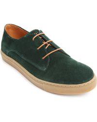Piola Loreto Suede Green Gum Sneakers - Lyst