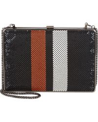 Barneys New York Clara Clutch black - Lyst