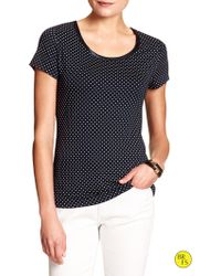 Banana Republic Factory Luxe-Touch Tee - Lyst
