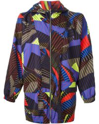 Christopher Kane Pages Print Reversible Mac - Lyst