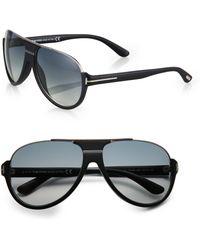 Tom Ford Dimitry Acetate Retro Sunglasses - Lyst