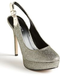 Nine West Faithfully Glitter Sandals - Lyst
