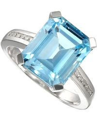 Amore Argento - Blue Lagoon Ring - Lyst