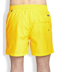 Façonnable - Nylon Swim Trunks - Lyst