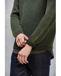 Neuw Sea Washed Crew-neck Sweater - Green