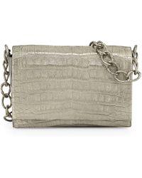 Nancy Gonzalez Crocodile Medium Chain Crossbody Bag - Lyst