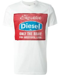 Diesel 'Only The Brave' T-Shirt - Lyst