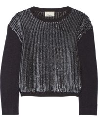 3.1 Phillip Lim Sequin-Embellished Wool Sweater - Lyst