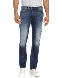 Diesel Darron Regular Slim Tapered Jeans - Lyst
