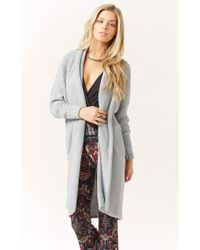 Blessed Are The Meek Cross Hatch Cardi - Lyst